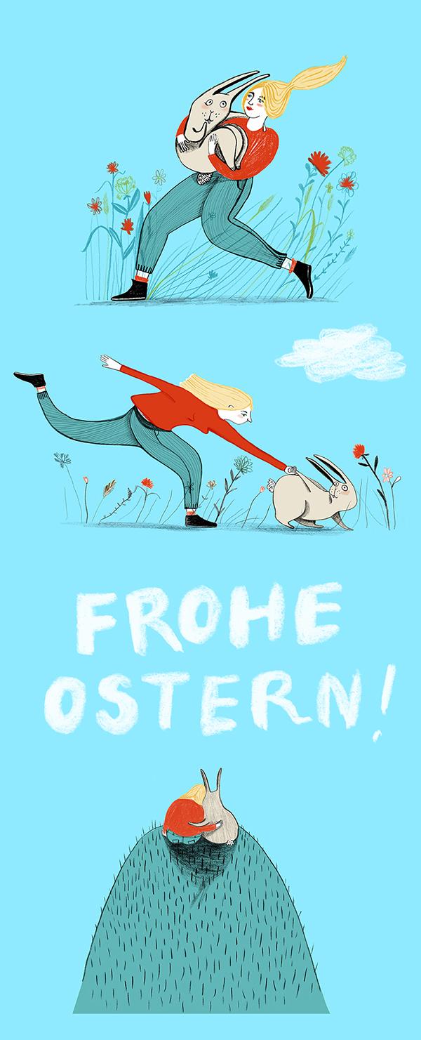 Frohe Ostern! von Verena Herbst